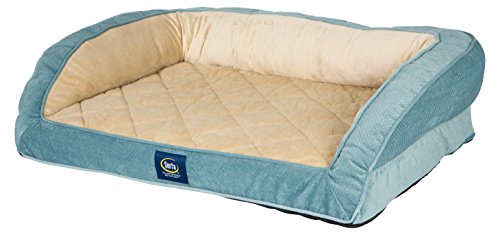 Serta-Orthopedic-Quilted-Couch