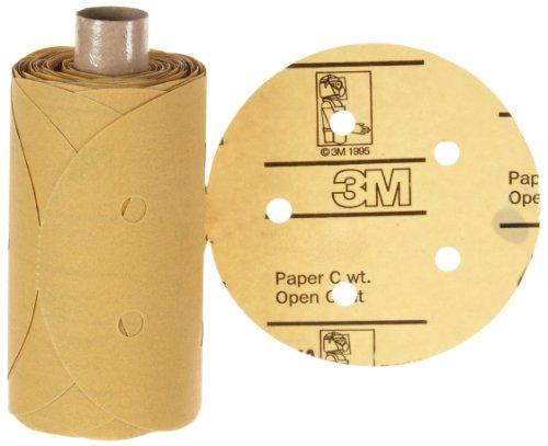 """3M Stikit Paper D/F Disc Roll 236U, Psa Attachment, Aluminum Oxide, 5"""" Diameter, P240 Grit (Pack Of 1) front-353462"""