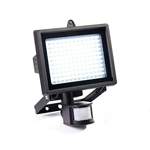 LED-Strahler-mit-Bewegungsmelder-130-LEDs-Spotlicht