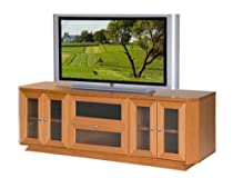 Hot Sale Furnitech 70 inch Transitional Console (Light Cherry Finish)