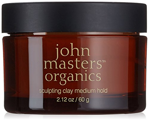 John Masters Organics sculpting clay medium hold, Haarwachs, 60 g thumbnail