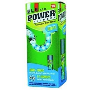 Jelmar PP4-5 CLR Power Plumber 4.5 oz.