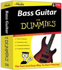 Popular Emedia Music Corp Bass For Dummies Cd-Rom Fun Easy 70 Easy-To-Follow Lessons Sm Box