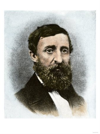 Henry David Thoreau at Age 43