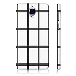 StyleStuffs Printed Back Case for Oneplus Three