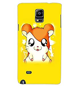 SAMSUNG GALAXY NOTE 4 CARTOON Back Cover by PRINTSWAG