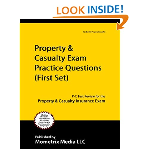 property and casualty insurance test dates It is always up-to-date listen up is an audio cd that acts as a personal trainer for your insurance exam the exam simulator for property and casualty.