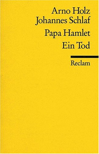 Papa Hamlet / Ein Tod.