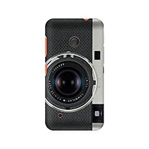 Ebby Classy Camera Premium Printed Case For Nokia Lumia 530