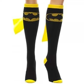 Batman Superhero Black Cape Sock