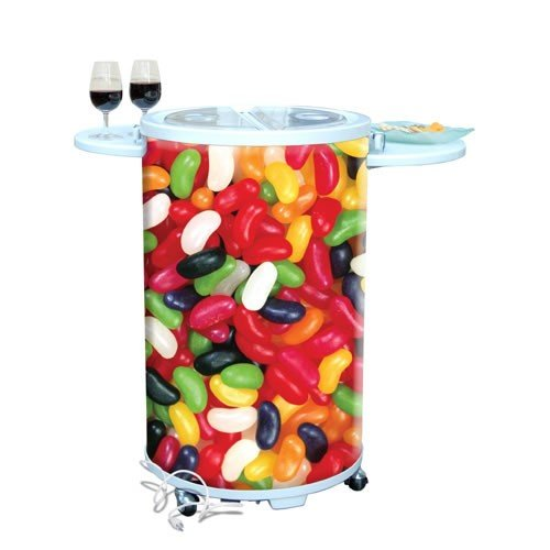 The Entertainer Refrigerator / Party Cooler - Premium Style: Premium Jelly Beans