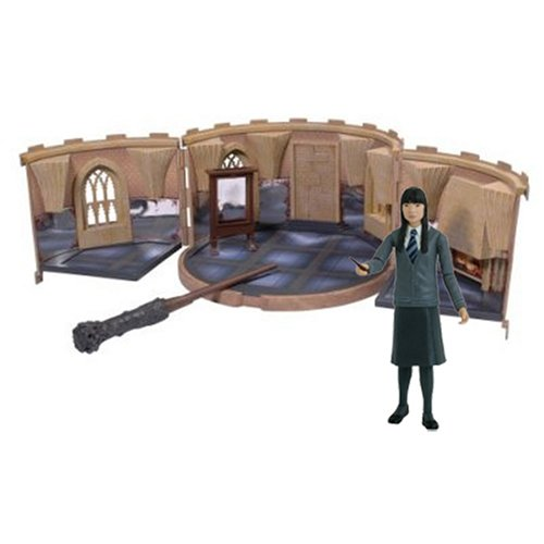 Harry Potter Room of Requirement Playset with Cho Chang