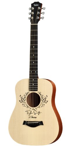 Taylor Guitars TS-BT, Taylor Swift Baby Taylor, 3/4 Size Dreadnought, Solid Sitka Spruce Top, Saplele Back/Sides, Natural