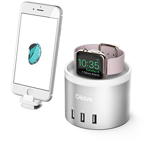 Oittm 新型 USB4ポート Apple Watch スタンド iPho...