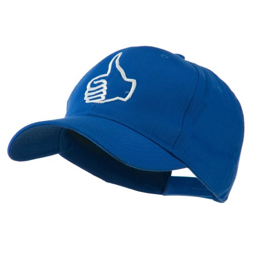 Facebook Thumbs Up Embroiodered Cap