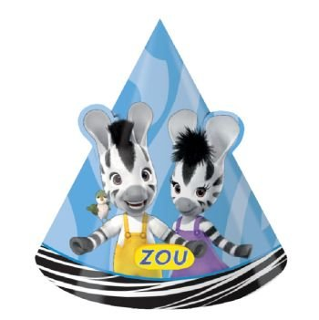 Zou Party Cone Hats (8 ct)