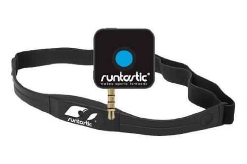 Runtastic RUNDC1 Cardiofrequenzimetro, Adattatore Jack e Fascia Cardio