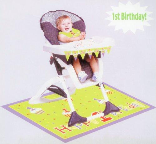 Teddys 1St Birthday High Chair Kit - Each