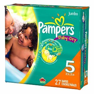 Pampers Baby Dry Diapers Size 5 front-1020426