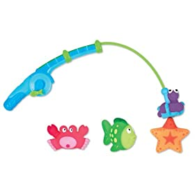 Munchkin Gone Fishin Bath Toy Set