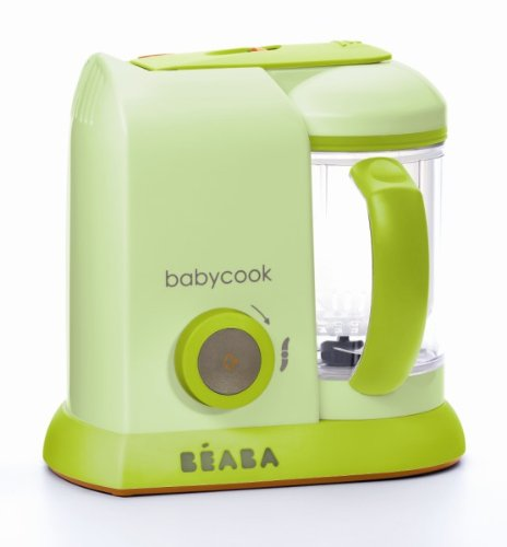 Beaba Babycook Pro Baby Food Processor and Steamer - Sorbet Color