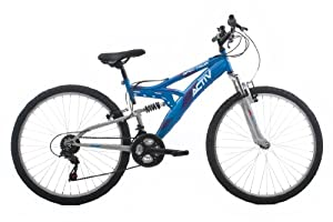 Raleigh Spectrum Women's Dual Suspension Mountain Bike - Blue, 16 Inch by Active