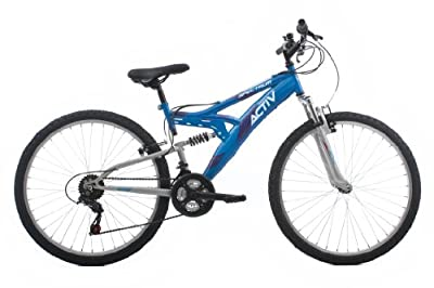 Raleigh Spectrum Women's Dual Suspension Mountain Bike - Blue, 16 Inch