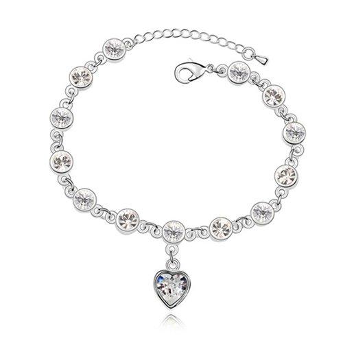 rarelove-white-retro-heart-swarovski-elements-crystal-white-gold-plated-chain-bracelets