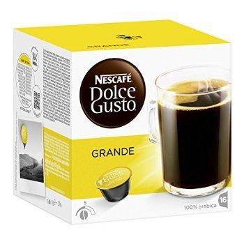 Order 2 X Nescafé Dolce Gusto Caffè Crema Grande 16 Capsules (Pack of 3, Total 48 Capsules) - Nescafe