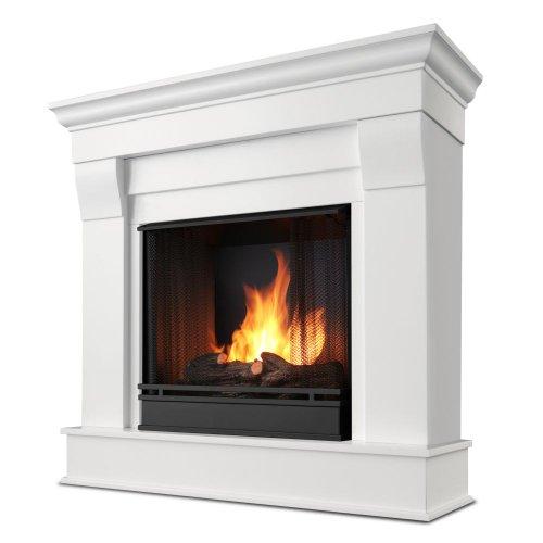 Chateau Gel Fuel White Fireplace Home Decor
