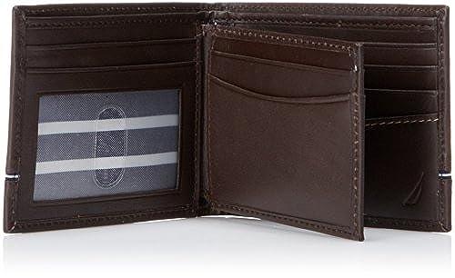 02. Nautica Men's Multi-Card Passcase Wallet