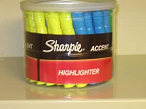 Sharpie Accent Tank-style Highlighters, Bulk Pack,