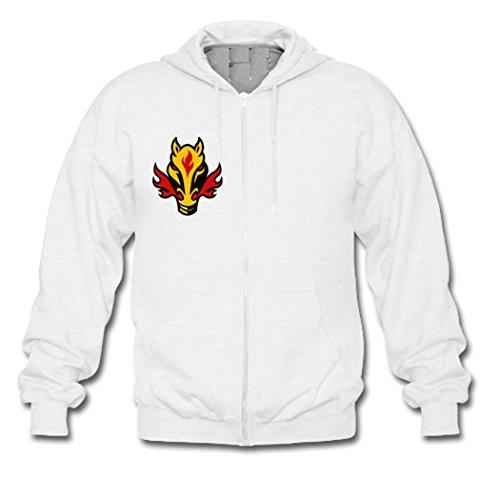 Custom Men Hoodie Iron Man Mask Gildan Zip Sweatshirt Zipper Jacket Hoodie Small White