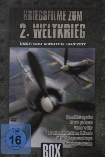 Kriegsfilme zum 2. Weltkrieg - Metallbox [2 DVDs]