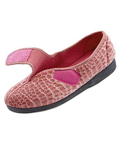 aad35e6d04f2 Mens Extra Extra Wide Slippers – Swollen Feet – VELCRO brand Diabetic    Edema