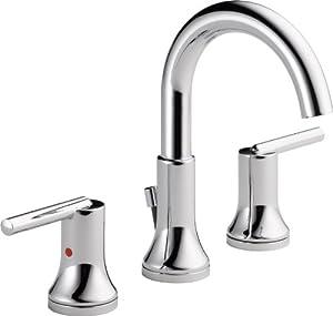 Delta Faucet 3559 Mpu Dst Trinsic Widespread Bath Faucet