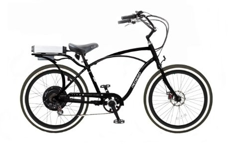 Pedego Classic Cruiser Black with Black Rims