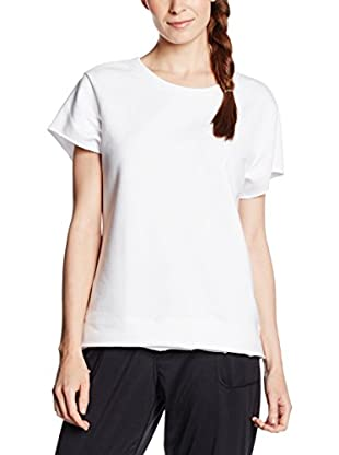 Under Armour Camiseta Técnica Studio Boxy Crew (Blanco)