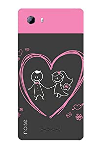Noise Just Married Printed Cover for Micromax Canvas Play 4G Q469