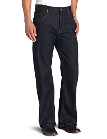 Dickies Men's Loose Straight Fit Five Pocket Jean, Indigo Blue, 32X34