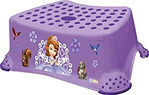 2 Set Princesa De Disney Princesita Sofía soporte para inodoro + Taburete Entrenamiento control de esfínteres Olla marca OKT Kids en BebeHogar.com