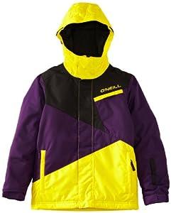 O'Neill Boy's PB Hawking Ski Jacket - Mighty Purple, 140 cm