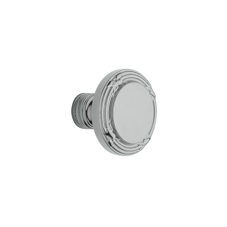 Baldwin 5013.260.priv Polished Chrome Privacy 5013 Solid Brass Knob with Your Choice of Rosette