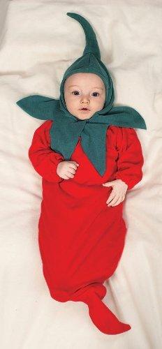 Chili Pepper Bunting Costume - Newborn front-1006173
