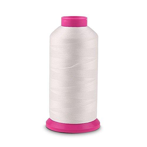 Pure White Glow 3000 Yards Luminous Glow In The Dark Machine Embroidery / Sewing DIY Thread no.09