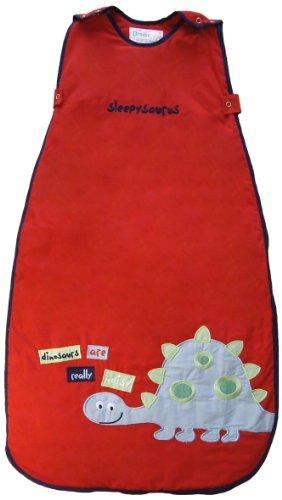 The Dream Bag Baby Sleeping Bag Sleepysaurus 18-36 Months 2.5 Tog - Red