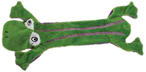 Detail image Grriggles Unstuffy Frog Pet Toy, Green