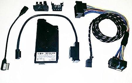 VW mDI en 5N0035342G media set complet pour ipod avec connecteur lightning iphone