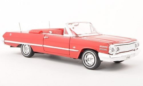chevrolet-impala-red-open-1963-model-car-ready-made-welly-124-by-welly