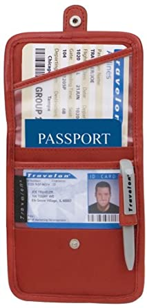Click to buy Travelon ID and Boarding Pass Holder with Snapfrom Amazon!